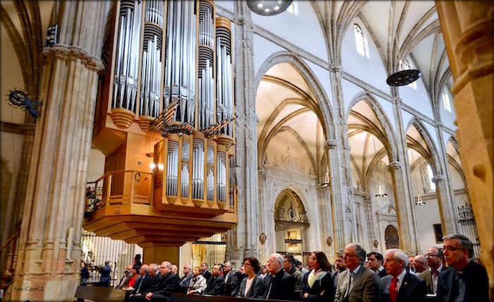 Inauguración de la exposición 500 años de la Magistral de Cisneros