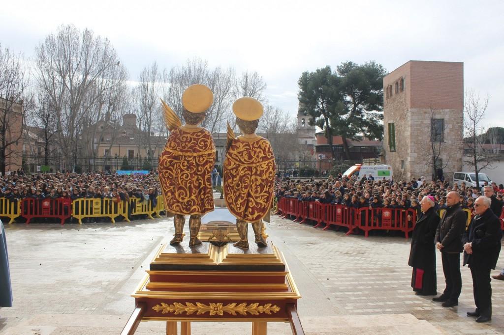 Fiesta de la Reversión de las Reliquias de los Santos Niños Justo y Pastor 2016