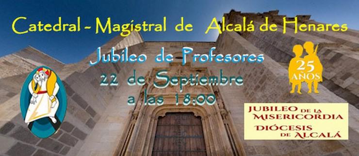 Jubileo de Profesores en la Catedral-Magistral de Alcalá de Henares