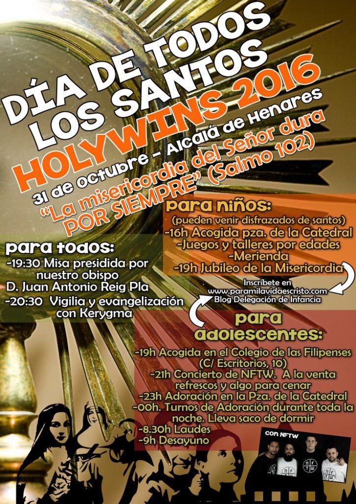 Holywins 2016 en Alcalá de Henares