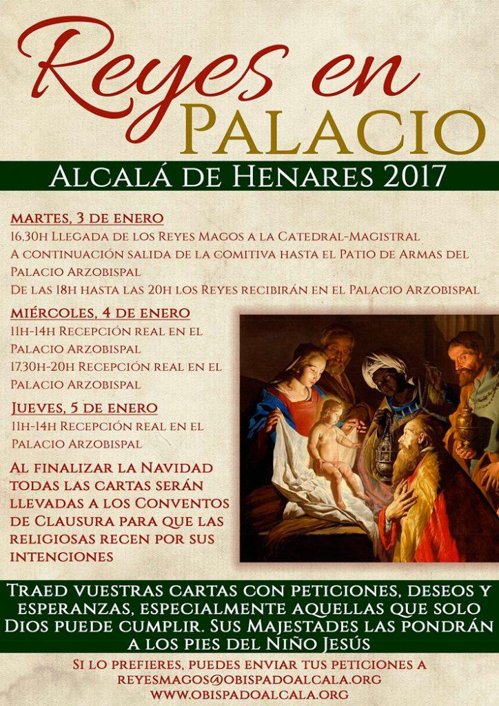 Los Reyes Magos en el Palacio Arzobispal