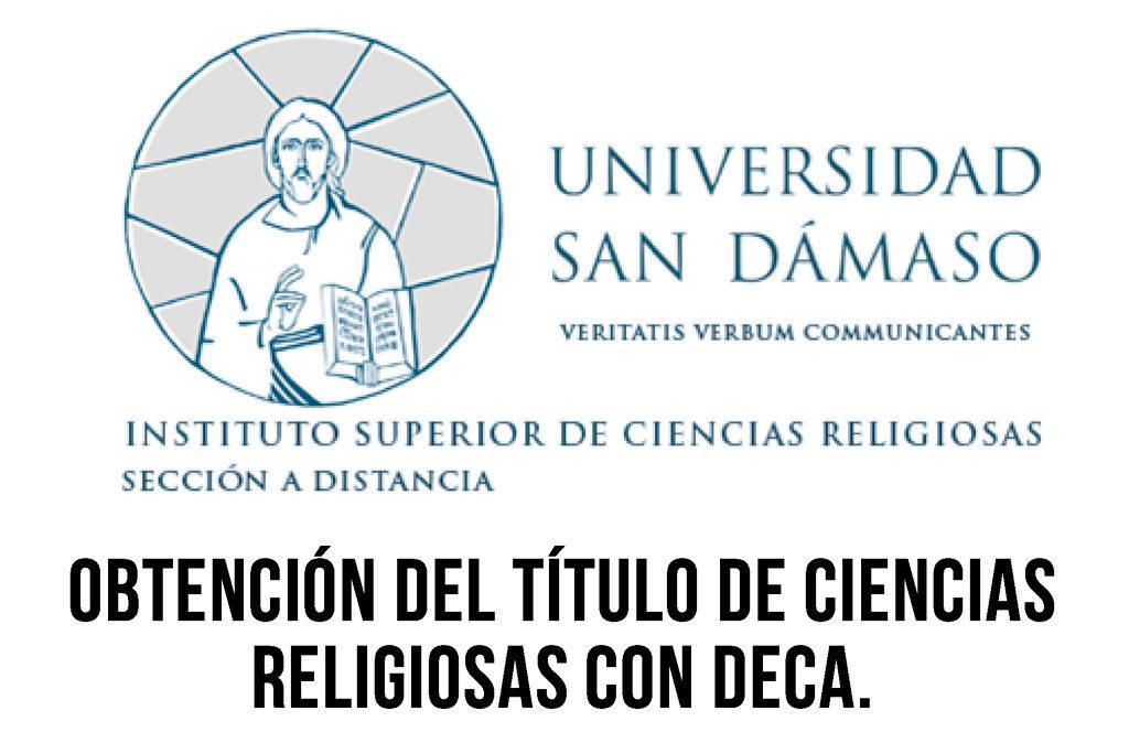 Curso a Distancia para el Título de Ciencias Religiosas